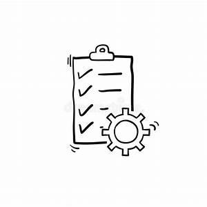Technical Check List Vector Icon  Checklist Clipboard