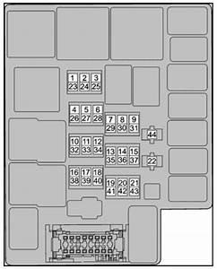Tata Zest  2014  U2013 2017   U2013 Fuse Box Diagram
