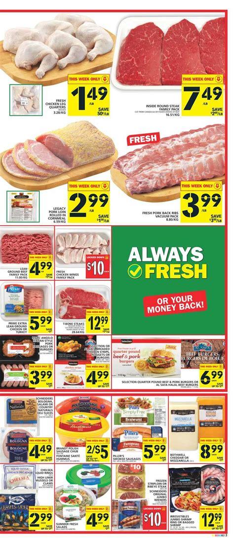 basics of cuisine food basics flyer june 30 to july 6