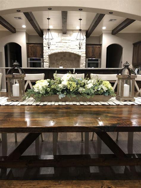 rustic elegance dining room centerpiece fall dining