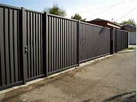 privacy fence panels Sheet Metal Privacy Fence Panels | Design & Ideas ...