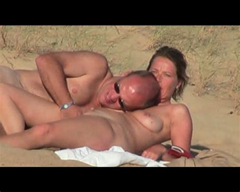 Mature Couple Having Sex On The Nude Beach On My Spy