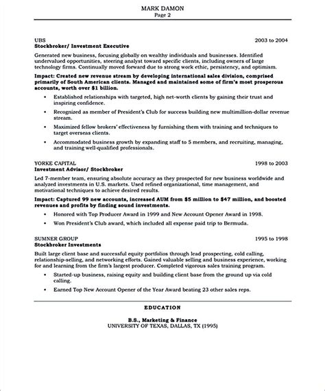 Salesperson Resume Sle by Salesperson Resume The Salesperson Resume Can Be A