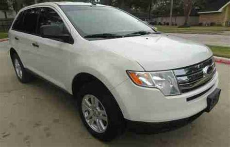 2010 Ford Edge Mpg by Purchase Used 2010 Ford Edge Se Sport Utility 4 Door 3 5l
