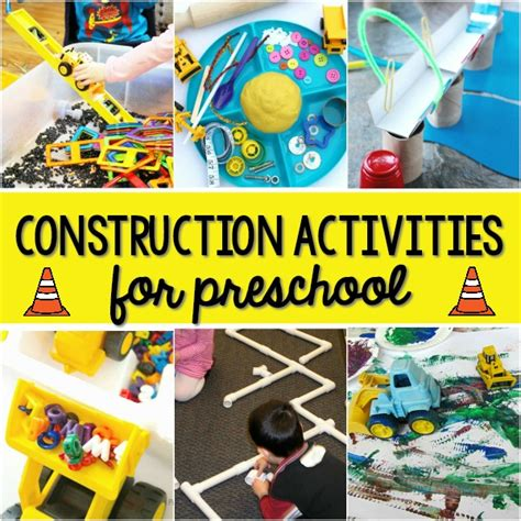 activities for a construction theme pre k pages 668 | Construction Theme Activities for Preschool