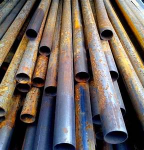 Free Picture  Rusty  Round  Metal  Pipes  Stacked