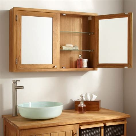 entretien du teck dans une salle de bain