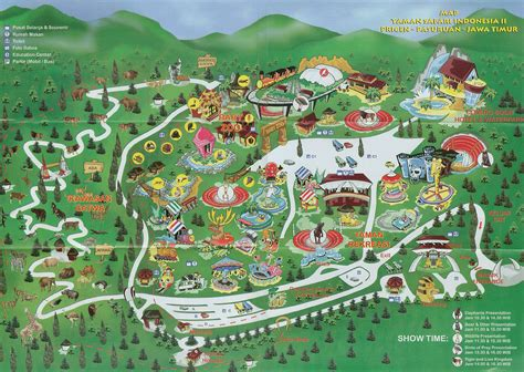 map  taman safari ii prigen pasuruan east java