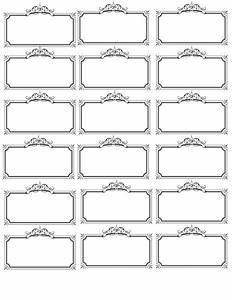 25 best ideas about name tag templates on pinterest With table name tags template printable