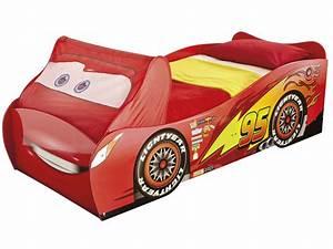 Lit Enfant Voiture : lit voiture 90x190 200 cm disney cars vente de lit enfant conforama ~ Preciouscoupons.com Idées de Décoration