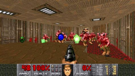 An additional port to the nintendo switch by developer panic button was released on november 10, 2017.[2] Play Doom and Doom II on the Oculus Rift | GameTransfers