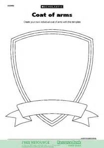Coat of Arms Template Printable