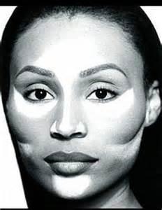 Contour Face Makeup Dark Skin