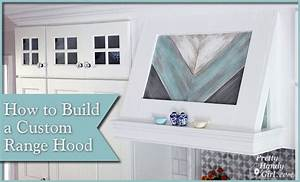 How to Build a Custom Wood Range Hood - Pretty Handy Girl