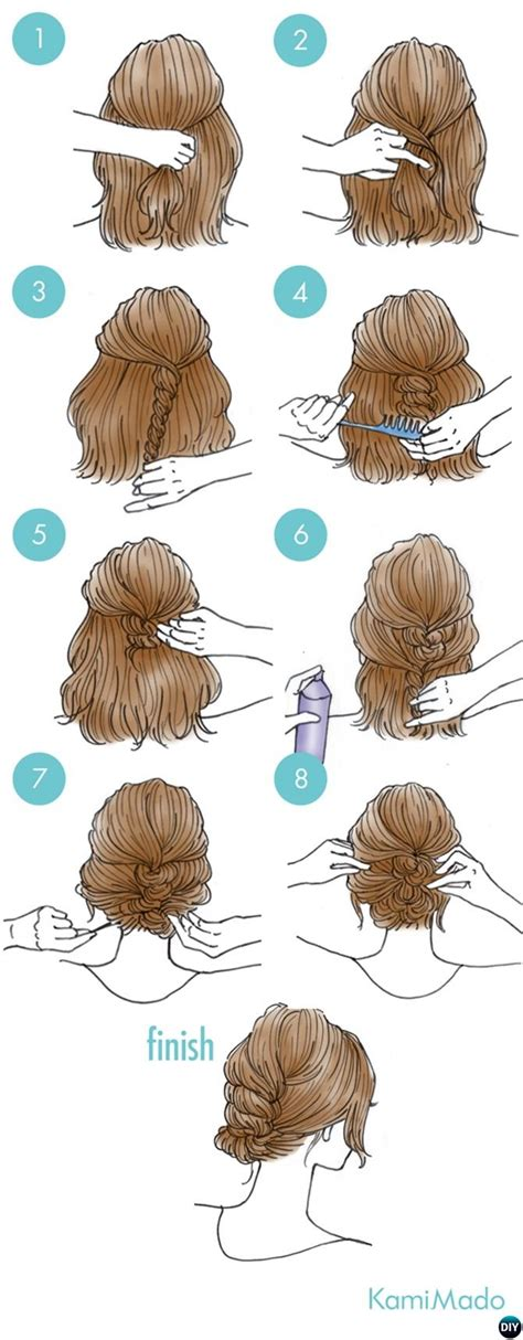 minute easy busy morning hairstyles