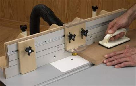 router table fence woodworking plan woodworkersworkshop