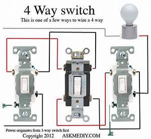 Wire 4 Way Switch Diagram  U2013 Economical Home Lighting