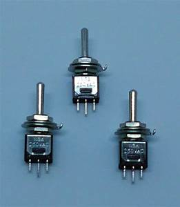 X3 On    Off Miniature Toggle Switch Spdt