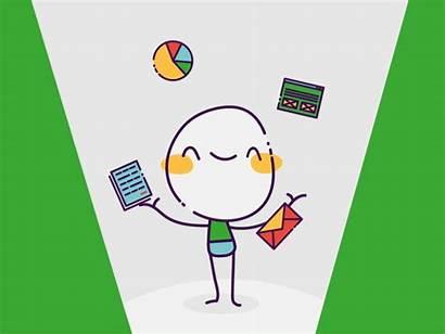 Animated Projectmanagement Management Animation Dribbble