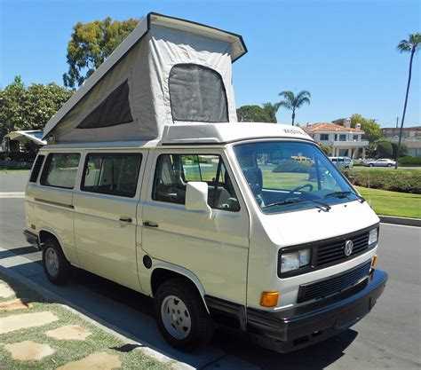 volkswagen vanagon 1989 vw vanagon westfalia cer auction in huntington