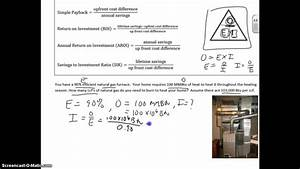 Furnace Input Calculation Given Output And Efficiency