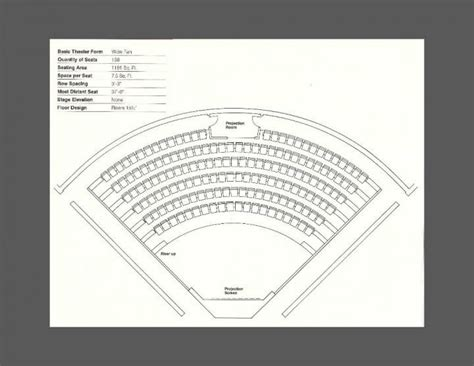 Conference seating chart template
