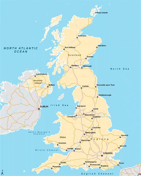 uk map mapsofnet