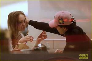 Timothee Chalamet Kisses Lily Rose Depp See The New Pics
