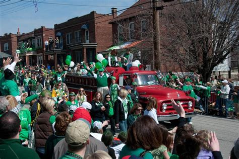 Dogtown St. Patrick's Day Parade In St. Louis