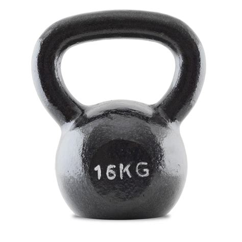 kettlebell iron 16kg cast bodymax kg rusas lbs asa pesa hierro fundido talla wee demon negro fitness comparestoreprices kettlebells