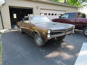 1966 Pontiac Lemans Convertible Project Nw Ohio Solid Body Bad Frame Gto Clone