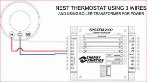 Honeywell Rth6580wf Thermostat To System 2000 Boiler