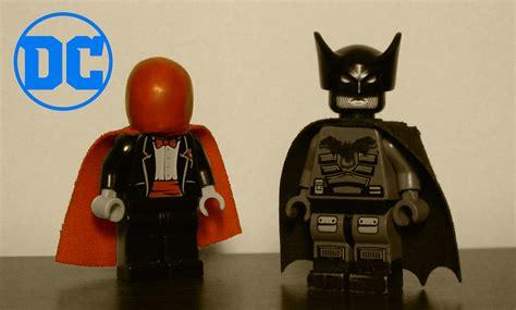 wallpaper red batman joker lego hood toy