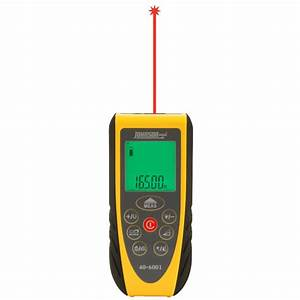 16539 laser distance measure 40 6001 johnson level With floor level measuring device