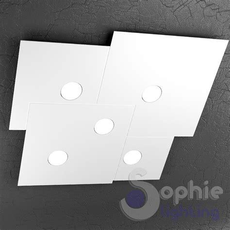 plafoniere per soggiorno plafoniera soffitto led design moderno metallo bianco