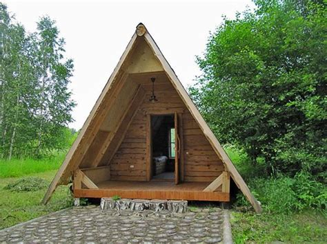 Small A Frame House by Small House Designs With Gable Roofs And Triangular A