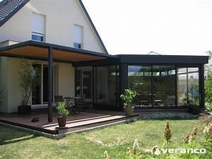 Prix D Une Pergola : veranda avec pergola fabrication et installation de ~ Dailycaller-alerts.com Idées de Décoration