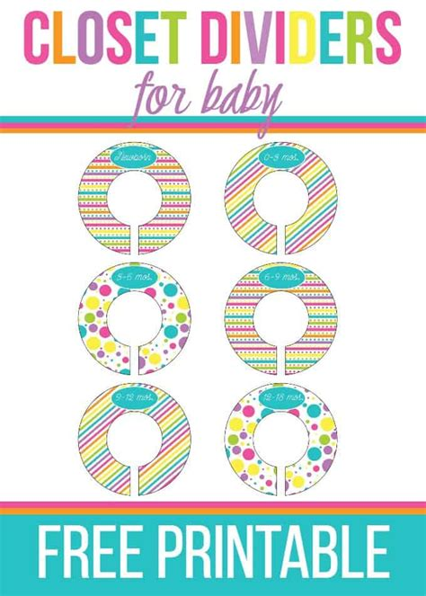 Closet Dividers For Baby  Simply Stacie
