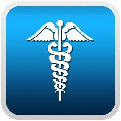 Caduceus Medical Symbol Button Clipart Clip Cliparts