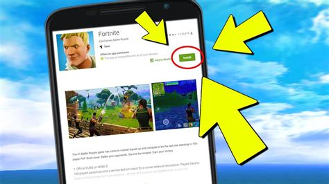 fortnite mobile android release update downloads