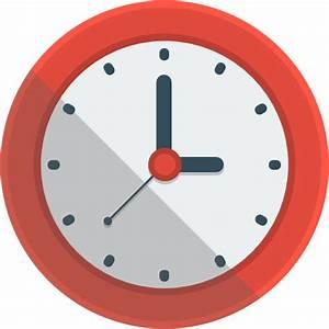 Clock Icon | Flat Iconset | Flat-Icons.com