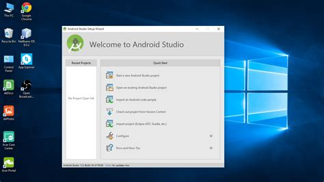 windows for android android er install android studio on windows 10