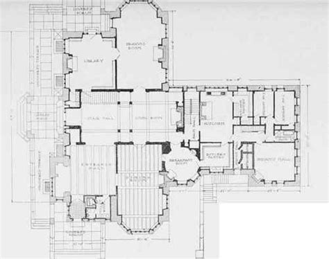 Chicago Mansion Floor Plan by Home Ideas