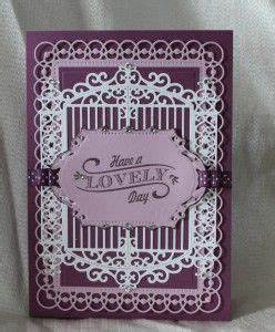 Spellbinders Gilded Gate Birthday Card Idea with card