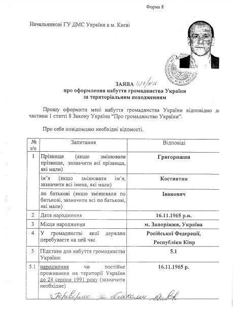 Получение гражданства рф студентам из украины