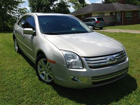 sell   ford fusion sel  fwd  loaded lowest