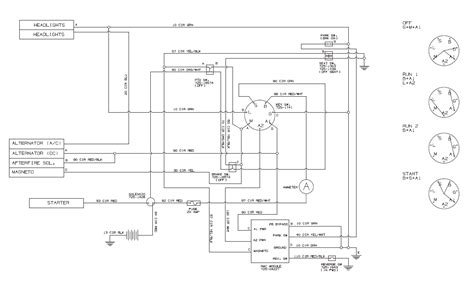 Polari Atv Key Switch Wiring Diagram by Troy Bilt 13an77tg766 Need Key Switch Color Code Wire