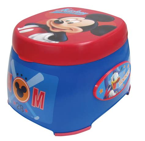Mickey Mouse Potty Seat by Mickey Mouse 3in1 Potty Trainer Potty Concepts