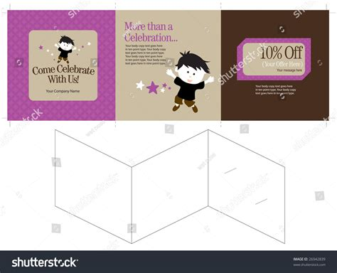 15x5 Three Panel Brochure Template Folds To 5x5 Includes 15x5 Three Panel Brochure Template Folds To 5x5 Includes