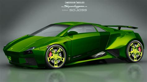 Cool Lamborghini Wallpapers Green